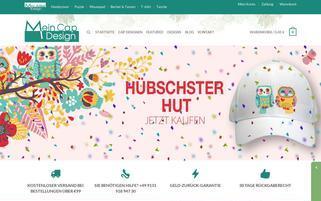 mein-cap-design.de Webseiten Screenshot