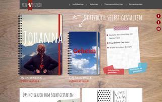 mein-notizbuch.com Webseiten Screenshot