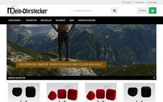 mein-ohrstecker.de Webseiten Screenshot