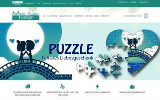 mein-puzzle-design.de Webseiten Screenshot