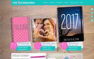 Mein Taschenkalender Webseiten Screenshot