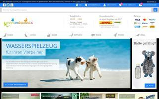 Mein Tierdiscount Webseiten Screenshot