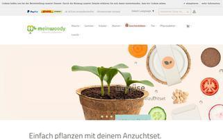 Mein Woody Webseiten Screenshot