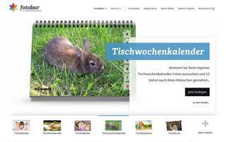 MeinBildkalender Webseiten Screenshot