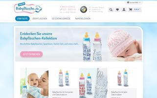 Meine Babyflasche Webseiten Screenshot