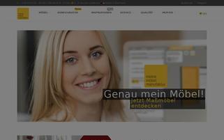 Meine Möbelmanufaktur Webseiten Screenshot