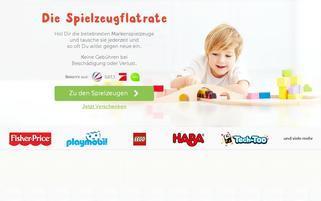 Meine-Spielzeugkiste Webseiten Screenshot
