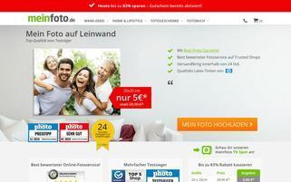 meinfoto.de Webseiten Screenshot