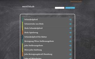 meinLiLaLu Webseiten Screenshot