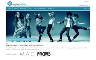 meinoutlet.com Webseiten Screenshot
