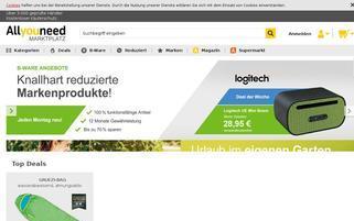 MeinPaket Webseiten Screenshot