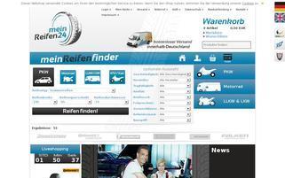 MeinReifen24 Webseiten Screenshot