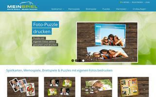 MeinSpiel Webseiten Screenshot