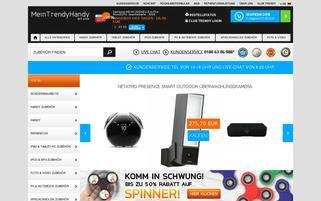 MeinTrendyHandy.de Webseiten Screenshot
