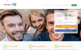 Meinungswelt.de Webseiten Screenshot