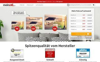 meinxxl.de Webseiten Screenshot