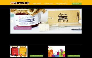 meMARMELADE Webseiten Screenshot