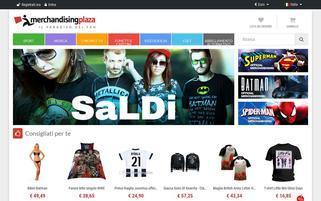 merchandisingplaza.com Webseiten Screenshot
