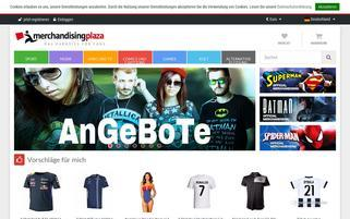 MerchandisingPlaza Webseiten Screenshot