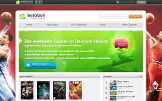 Metaboli Webseiten Screenshot