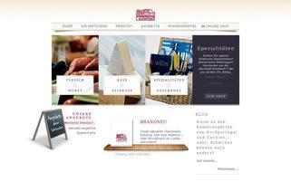Metzgerei Lauterbach Webseiten Screenshot