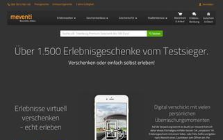 Meventi Webseiten Screenshot