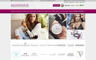 Meyschmuck.de Webseiten Screenshot