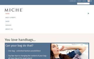Miche Bag Europe Webseiten Screenshot