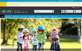 microscooter-shop.de Webseiten Screenshot