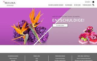 Miflora AT Webseiten Screenshot