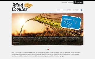 Mind Cookies Webseiten Screenshot