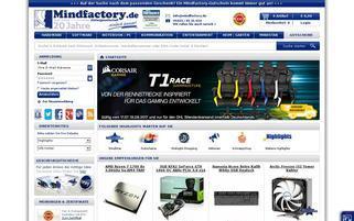 Mindfactory Webseiten Screenshot