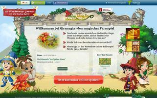 Miramagia Webseiten Screenshot