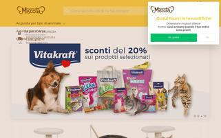 miscota.it Webseiten Screenshot