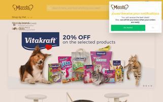 miscota.se Webseiten Screenshot