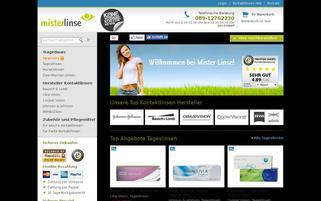 MisterLinse Webseiten Screenshot