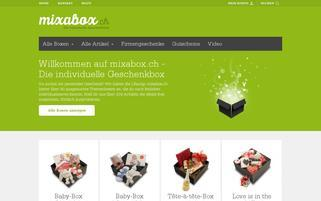 mixabox Webseiten Screenshot