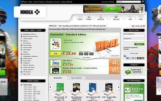 mmoga.com Webseiten Screenshot