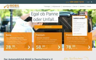 mobil.org Webseiten Screenshot