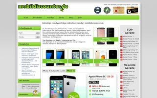 mobildiscounter.de Webseiten Screenshot