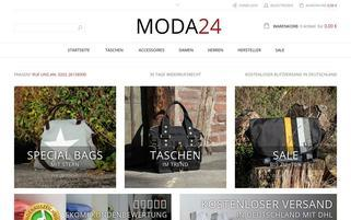 moda24 Webseiten Screenshot
