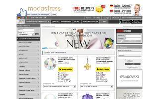 Modastrass Webseiten Screenshot
