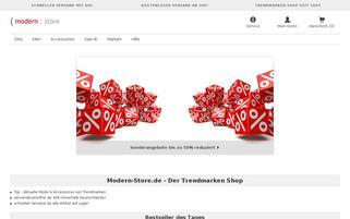 Modern Store Webseiten Screenshot