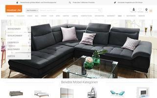 Moebel.de Webseiten Screenshot