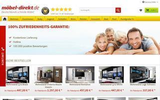 Möbel-Direkt Webseiten Screenshot