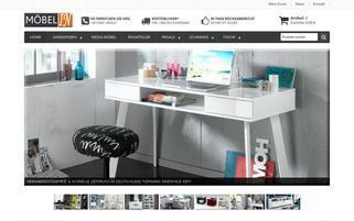 moebel-in-shop.de Webseiten Screenshot