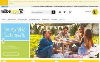 Möbel Jack Webseiten Screenshot