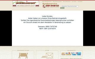 Möbel Sofort Webseiten Screenshot