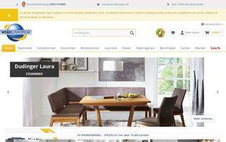 Möbel Universum Webseiten Screenshot