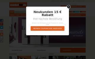 moebel100.de Webseiten Screenshot